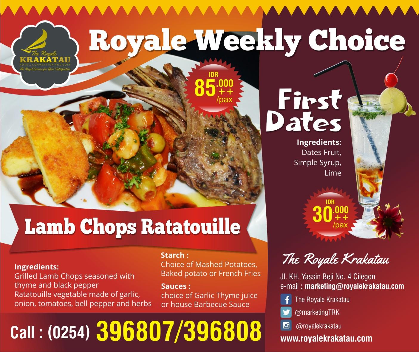 Royal discount coupon
